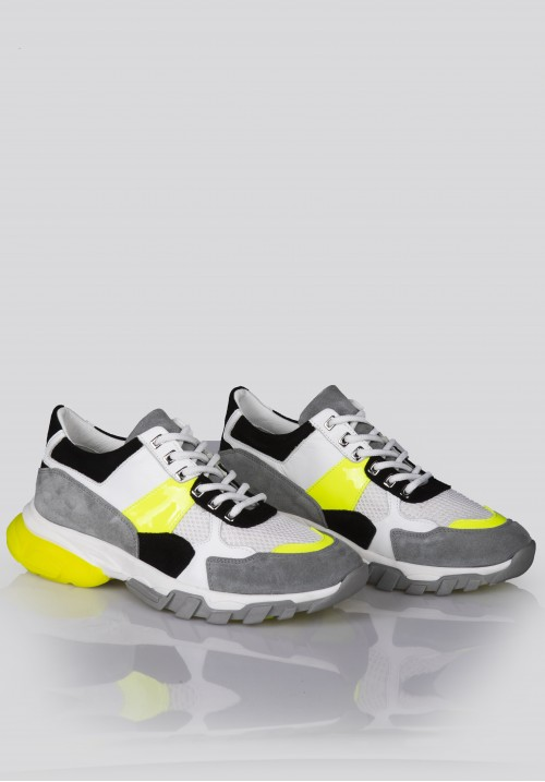 12380 GREY & YELLOW