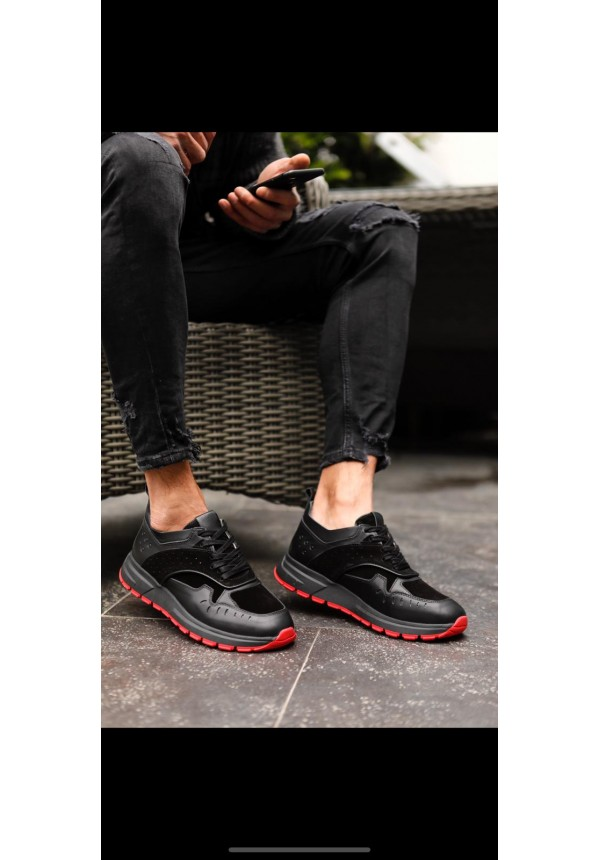 A 5925 BLACK & RED