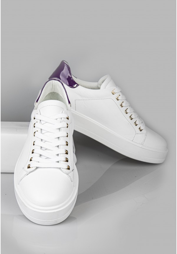 9777 WHİTE AND PURPLE