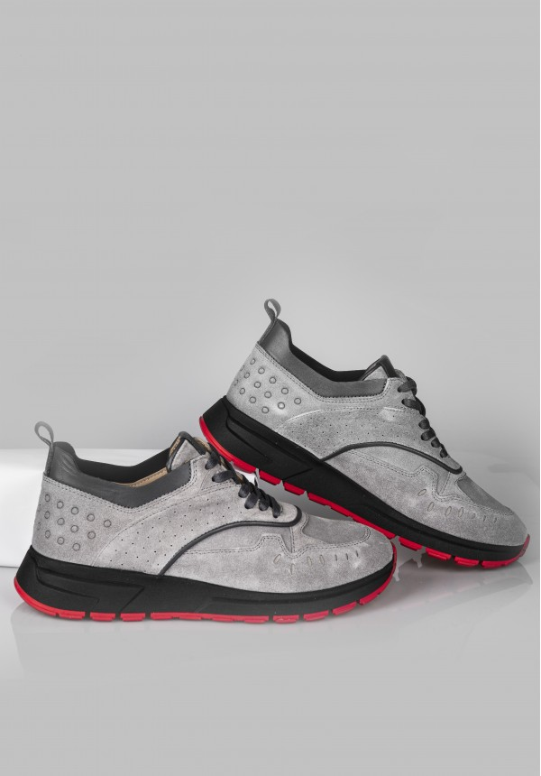 A 5925 GREY & RED