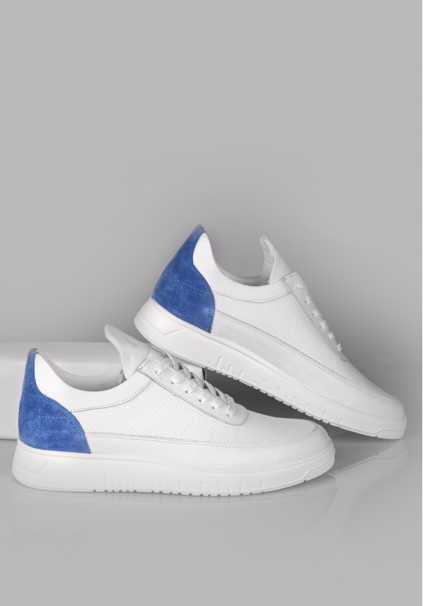 8587 WHİTE AND BLUE