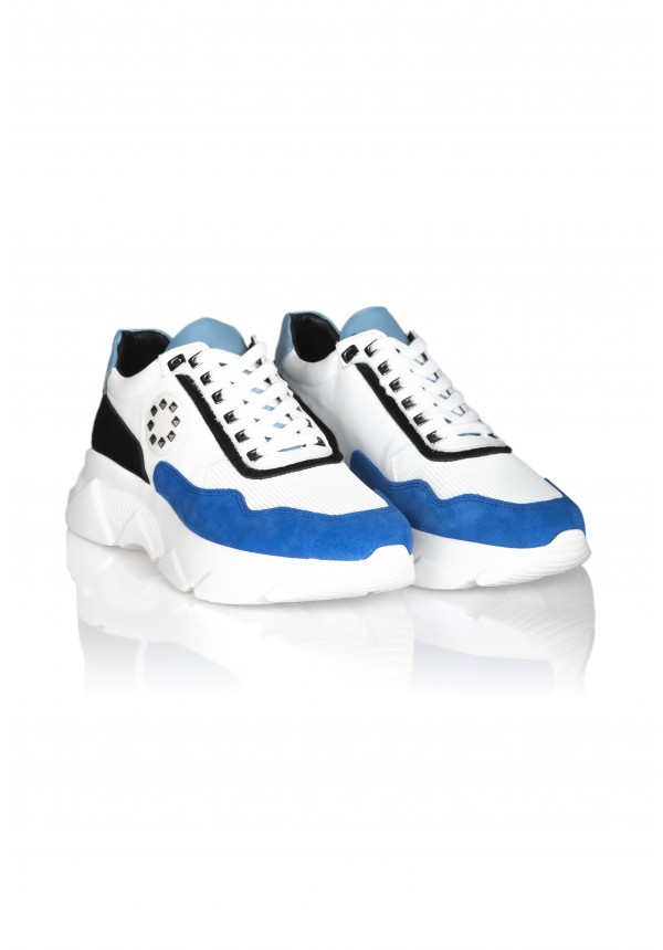 13626 WHİTE AND BLUE